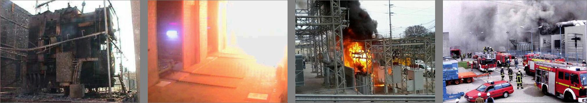 Explosionsschutz Transformator, Brandschutz Transformator, Transformer explosion protection, transformer fire protection, sergi,Transformatorenunfälle